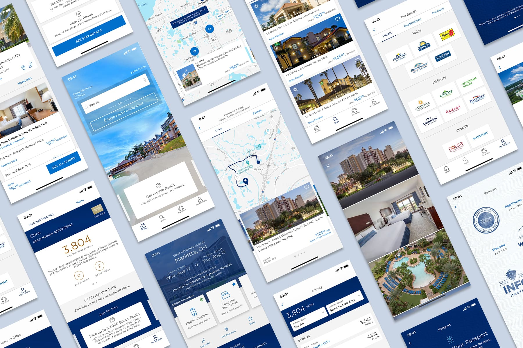 Wyndham Hotels and Resorts - Mobile App