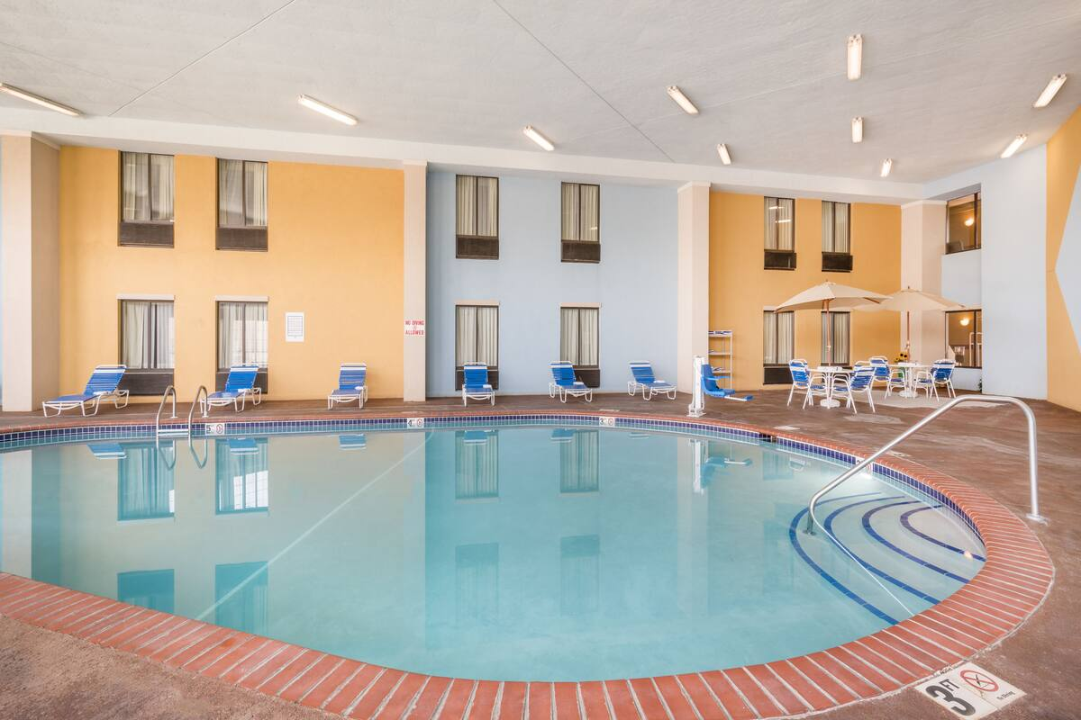Pool At The Americinn By Wyndham Johnston Des Moines In Iowa