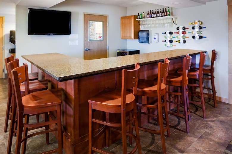 Bar At Americinn Hotel Suites Osage In Iowa