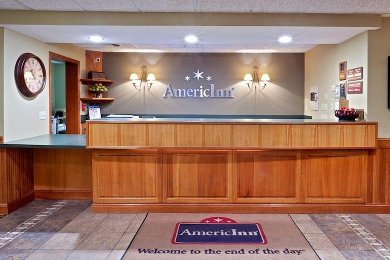 Americinn Lodge Suites Stuart Hotel Lobby In Iowa