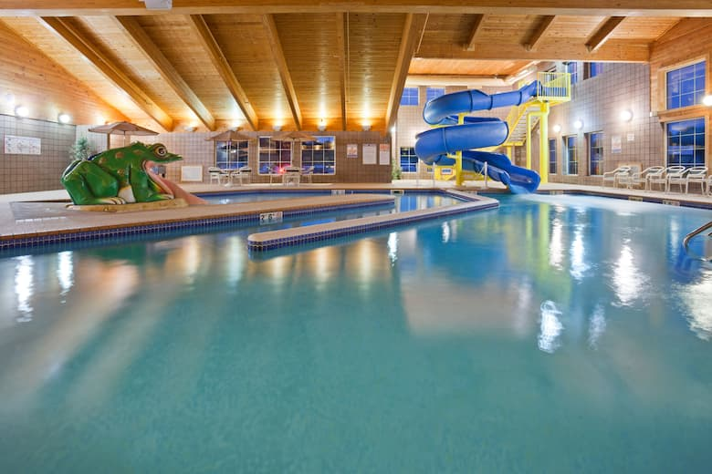 Pool At The Americinn By Wyndham Wetmore Munising In Michigan