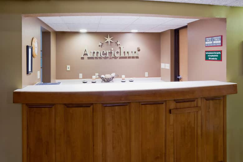 Americinn By Wyndham Crookston U Of M Hotel Lobby In Minnesota