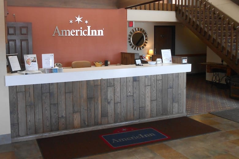 Americinn By Wyndham Forest Lake Hotel Lobby In Minnesota