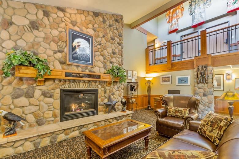 Americinn By Wyndham Wabasha Hotel Lobby In Minnesota
