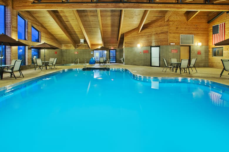 Pool At The Americinn Lodge Suites Aberdeen Event Center In South Dakota