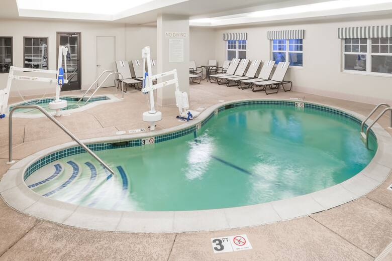 Pool At The Hawthorn Suites By Wyndham Franklin Ord Area In Machusetts