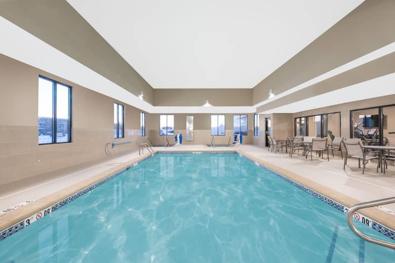 Pool At The Hawthorn Suites By Wyndham Fargo In North Dakota