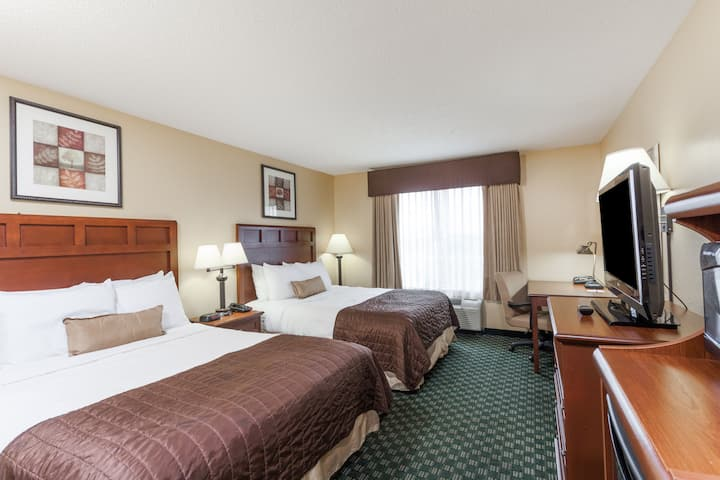 Guest room at the Baymont Inn & Suites Huntsville Airport/Madison in Madison, Alabama
