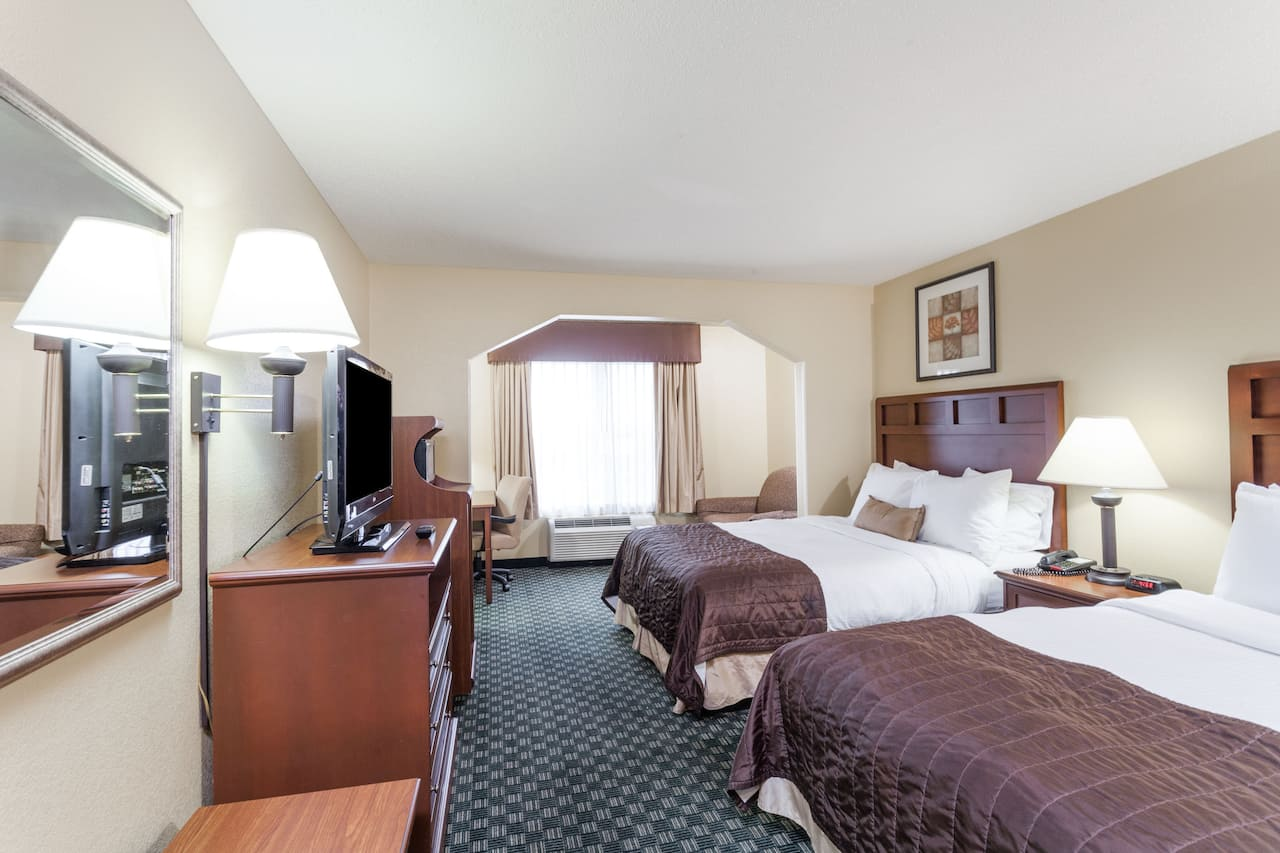 at the Baymont Inn & Suites Huntsville Airport/Madison in Madison, Alabama