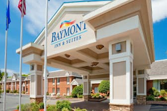 Exterior Of Baymont Inn Suites East Windsor Bradley Airport Hotel In Connecticut