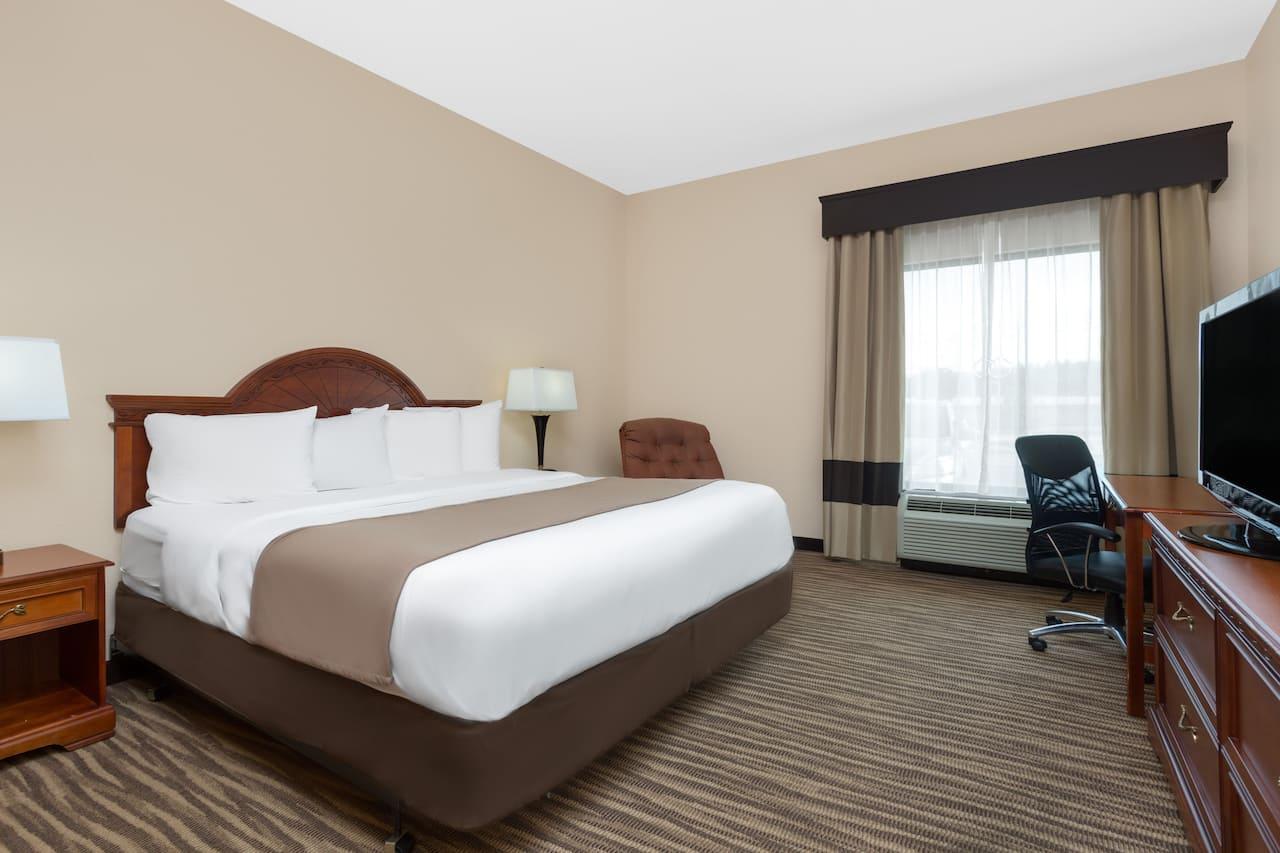 at the Baymont Inn & Suites Augusta Riverwatch in Augusta, Georgia