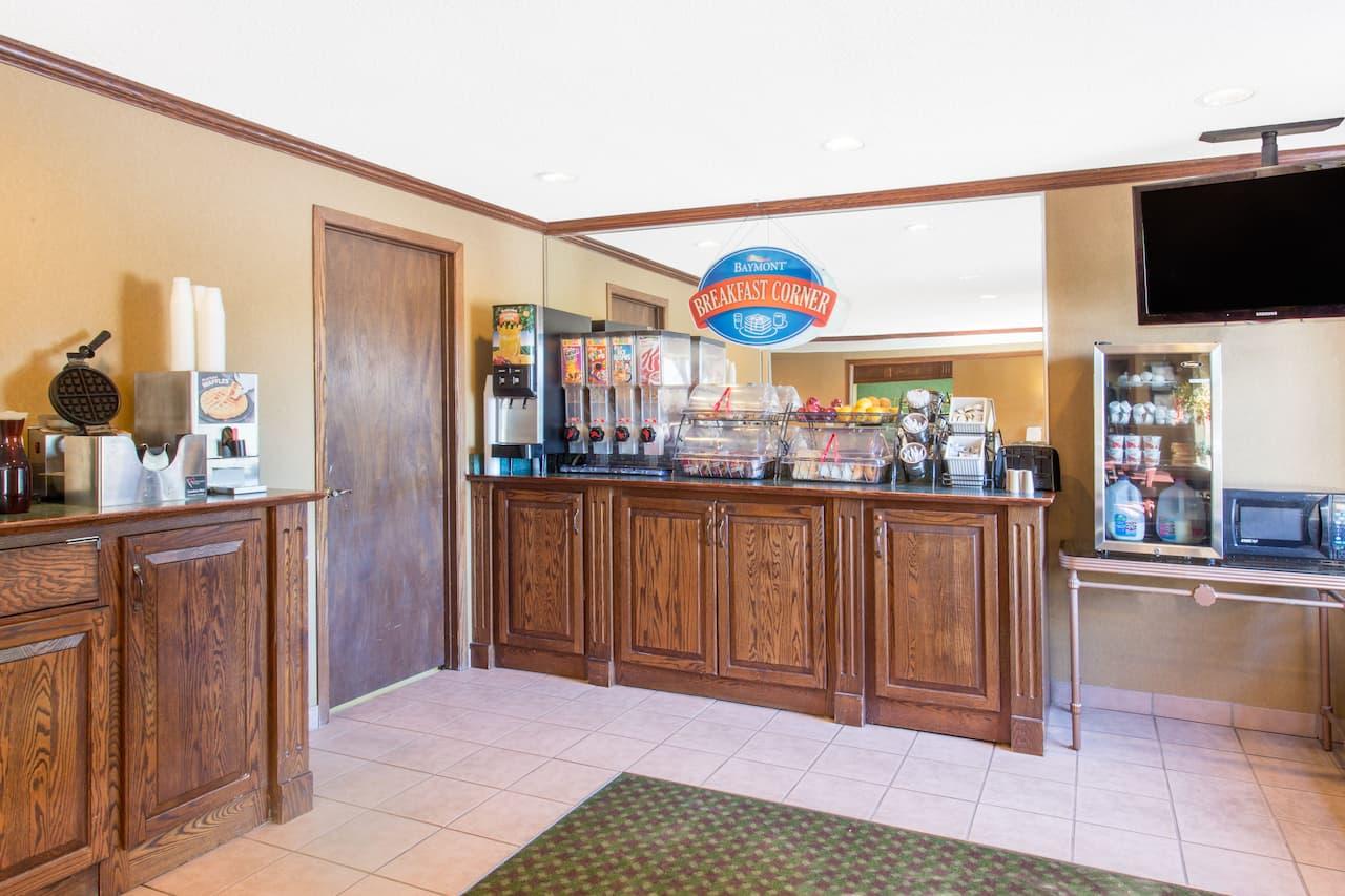 at the Baymont Inn & Suites Davenport in Davenport, Iowa