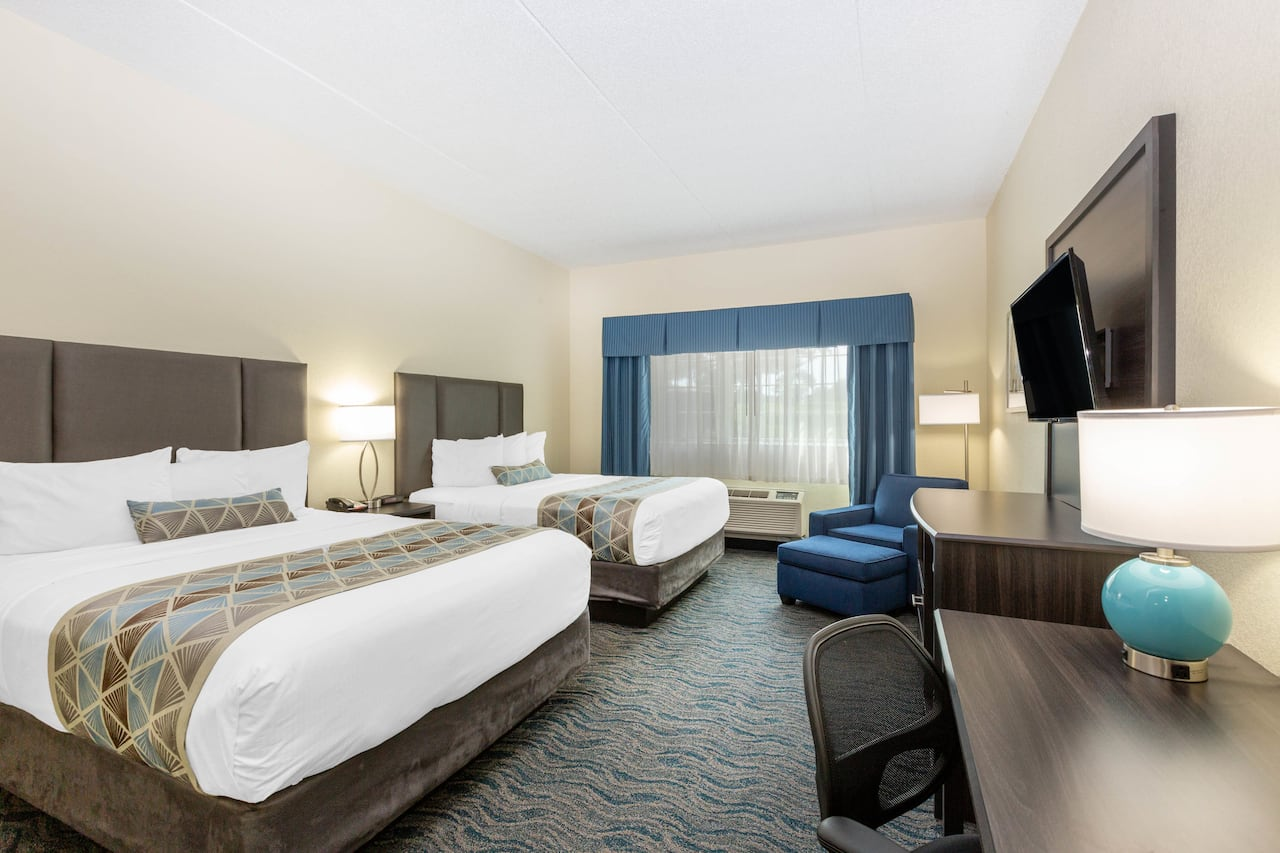 at the Baymont Inn & Suites Des Moines Airport in Des Moines, Iowa