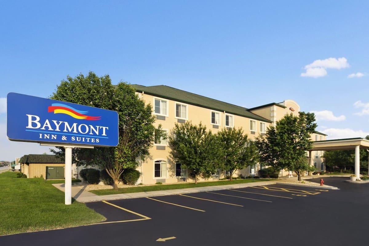 Exterior Of Baymont Inn Suites Dekalb Hotel In Illinois