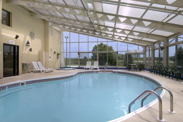 Pool At The Baymont Inn Suites Springfield In Illinois