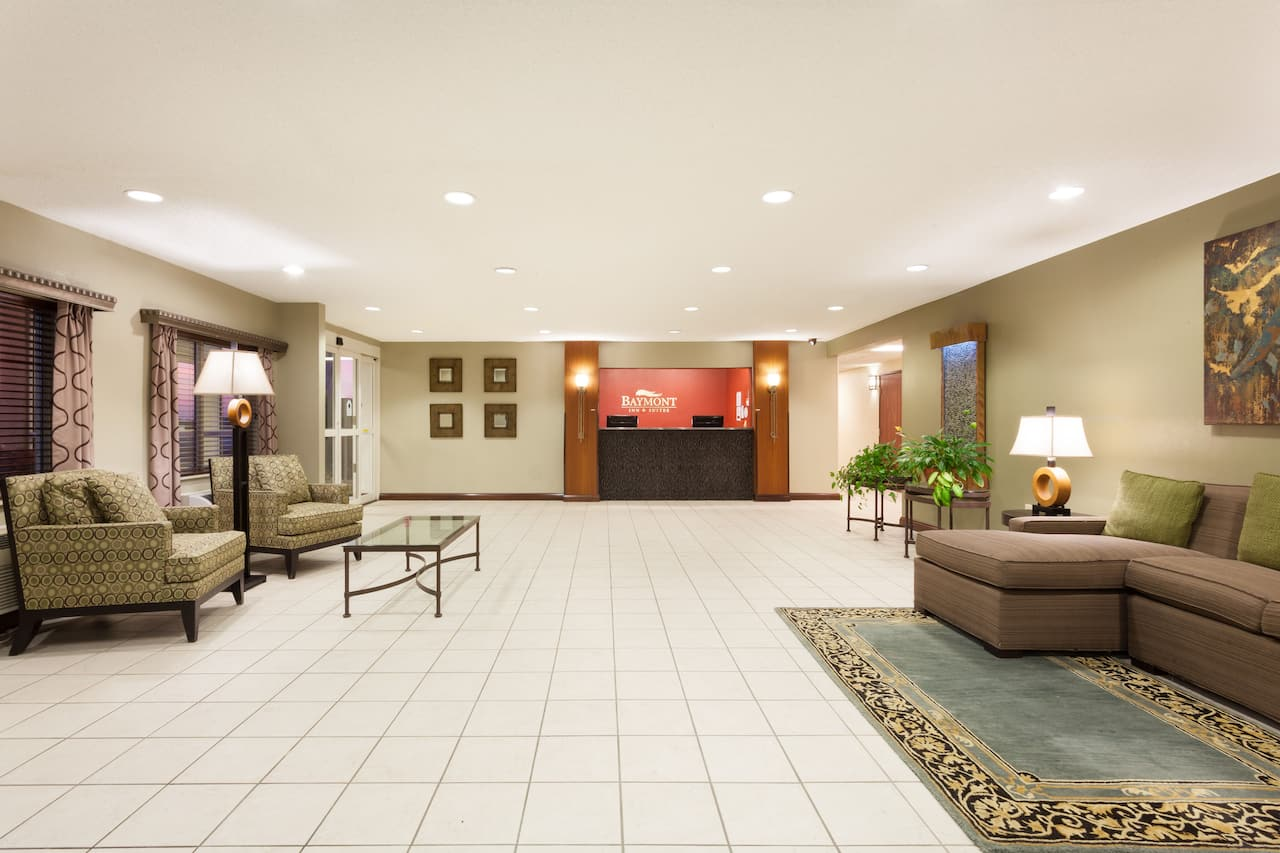 at the Baymont Inn & Suites Dale in Dale, Indiana