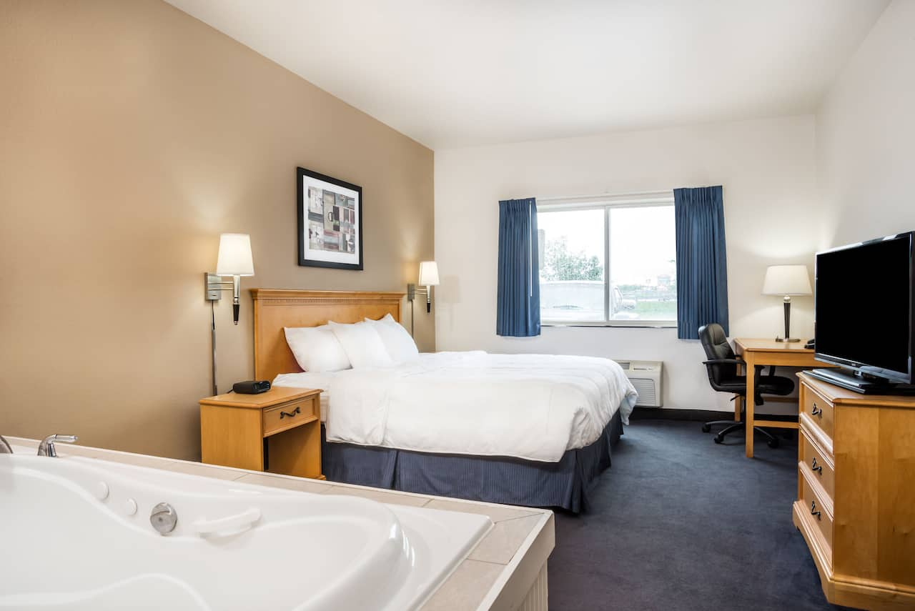 at the Baymont Inn & Suites Indianapolis Northeast in Indianapolis, Indiana