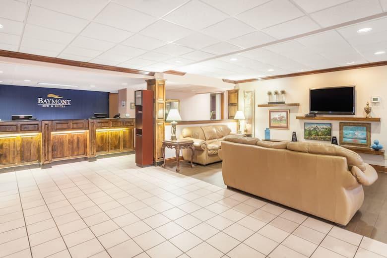 Baymont Inn Suites London Ky Hotel Lobby In Kentucky
