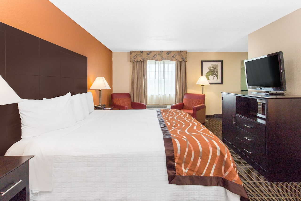 at the Baymont Inn & Suites Muskegon in Muskegon, Michigan