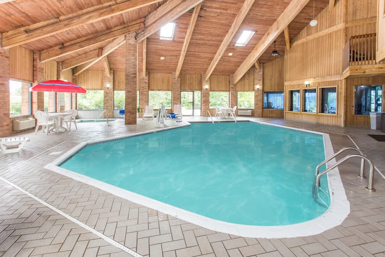 Pool At The Baymont By Wyndham Muskegon In Michigan