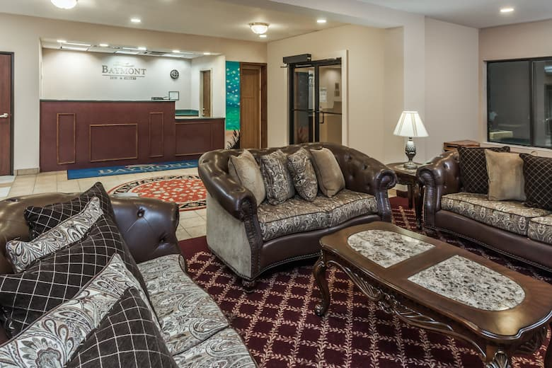 Baymont Inn Suites New Buffalo Hotel Lobby In Michigan