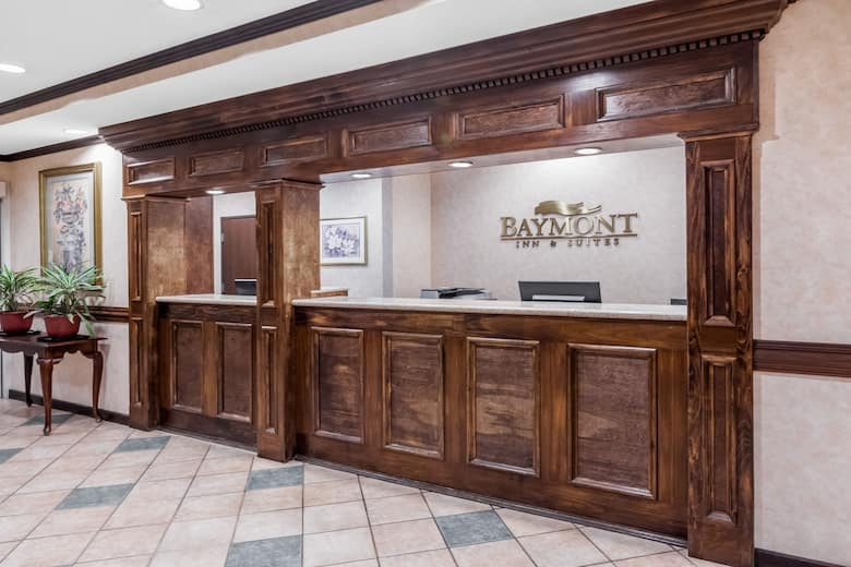 Baymont By Wyndham Grand Rapids N Walker Hotel Lobby In Michigan