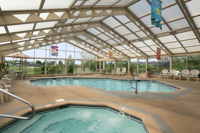 Pool At The Baymont Inn Suites Sullivan In Missouri