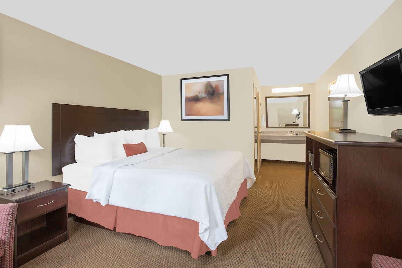 at the Baymont Inn & Suites Greenville in Greenville, North Carolina