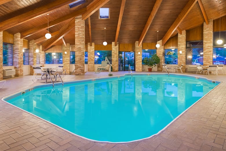 Pool At The Baymont Inn Suites Athens In Ohio