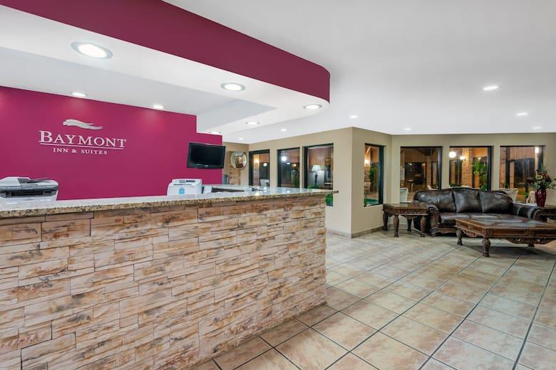 Baymont Inn Suites Enid Hotel Lobby In Oklahoma