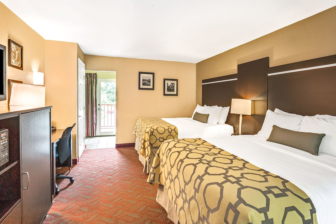 at the Baymont Inn & Suites Gatlinburg On The River in Gatlinburg, Tennessee