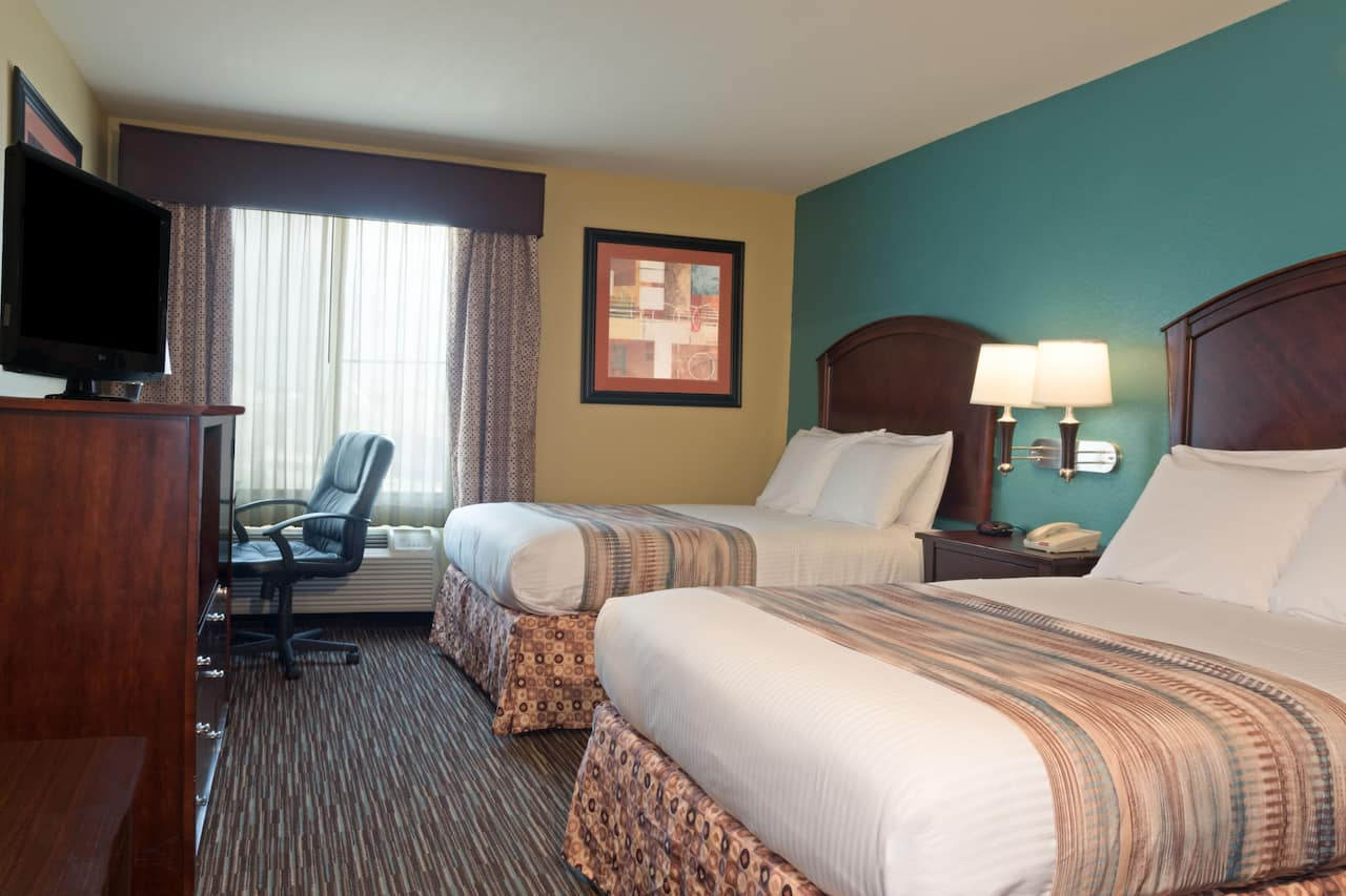 at the Baymont Inn & Suites Houston Intercontinental Airport in Humble, Texas