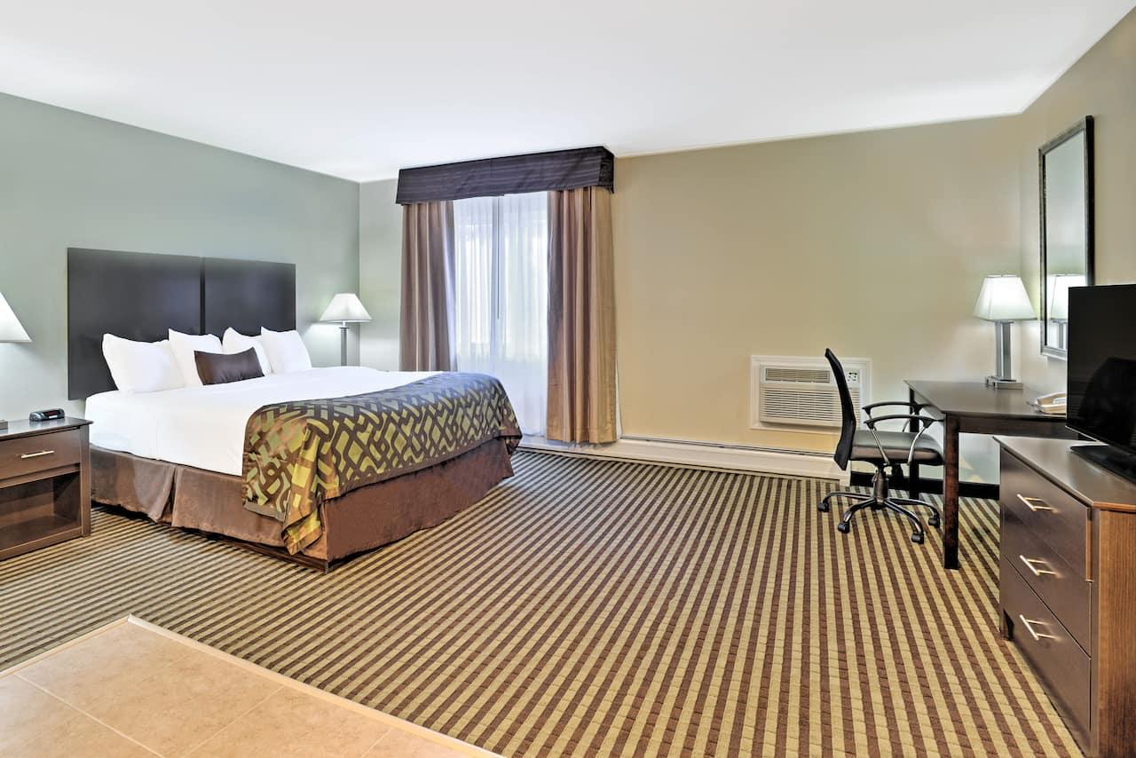 at the Baymont Inn & Suites Essex Burlington Area in Essex Junction, Vermont