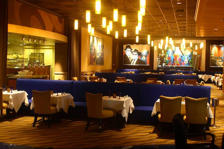 Harrah's New Orleans restaurant in New Orleans, Louisiana