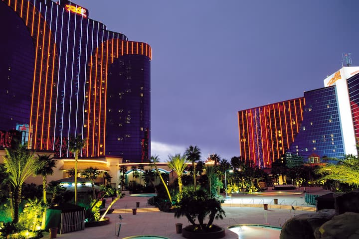 Exterior of Rio All-Suite Hotel & Casino,Trademark Collection by Wyndham hotel in Las Vegas, Nevada