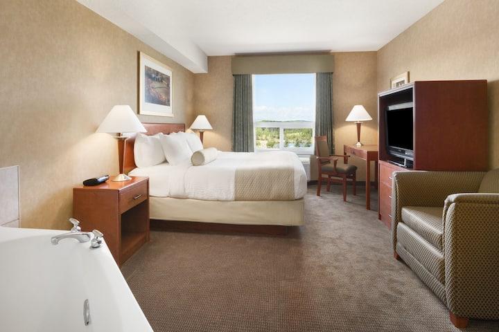 Days Inn & Suites Cochrane suite in Cochrane, Alberta