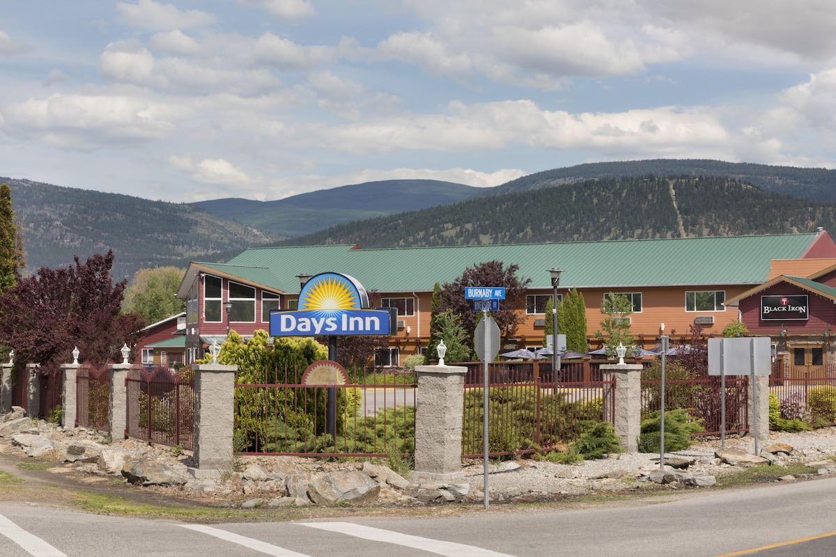 Exterior Of Days Inn Conference Centre Penticton Hotel In British Columbia