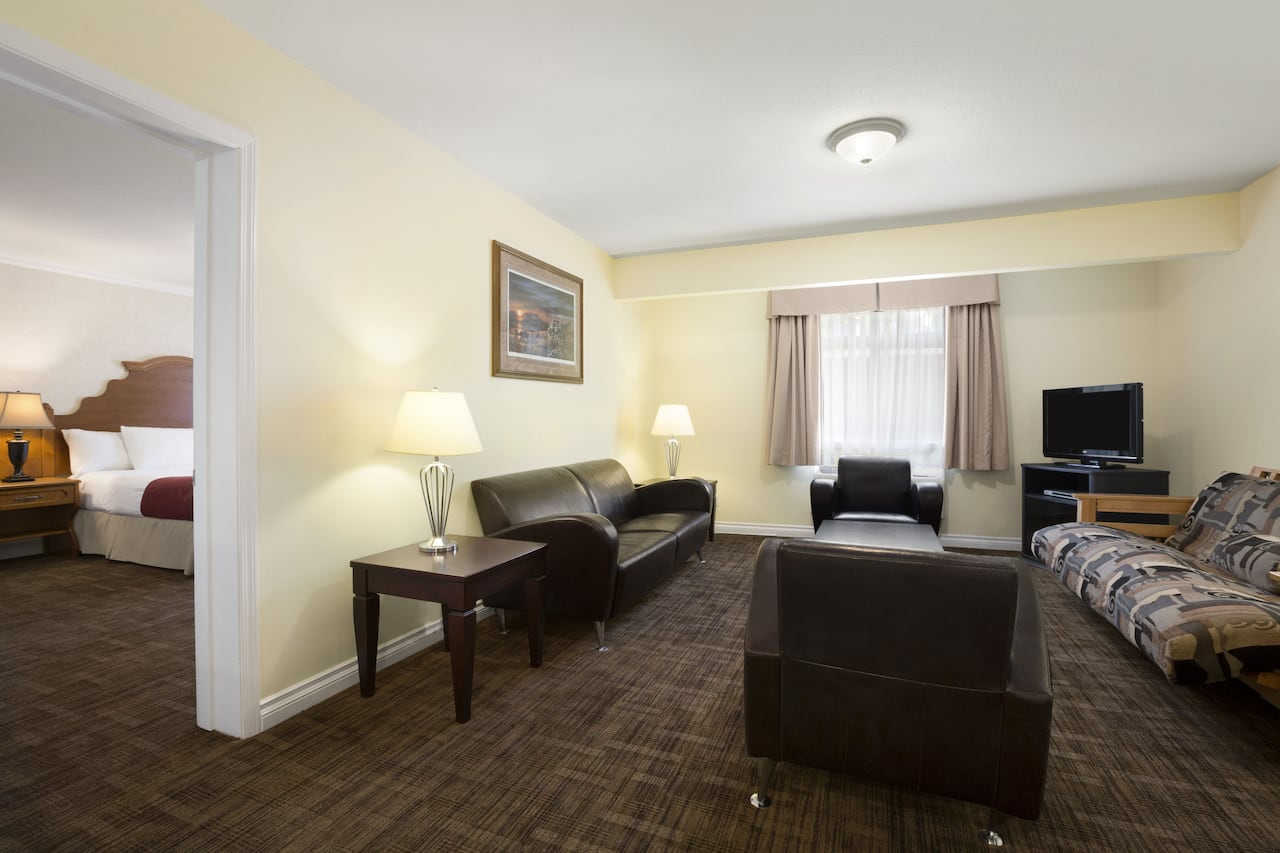 at the Days Inn & Suites Revelstoke in Revelstoke, British Columbia