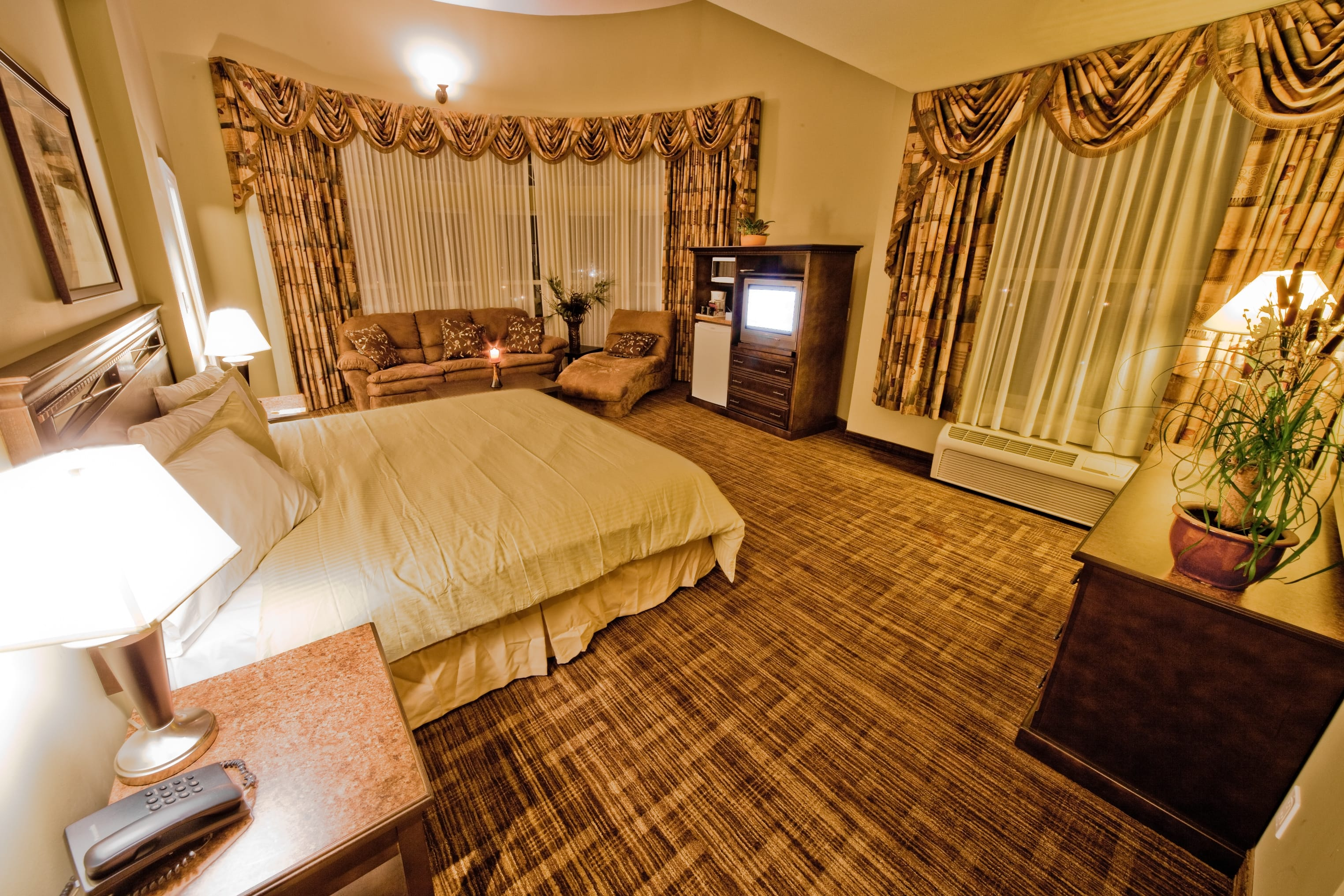 Guest room at the Days Inn Surrey in Surrey, British Columbia