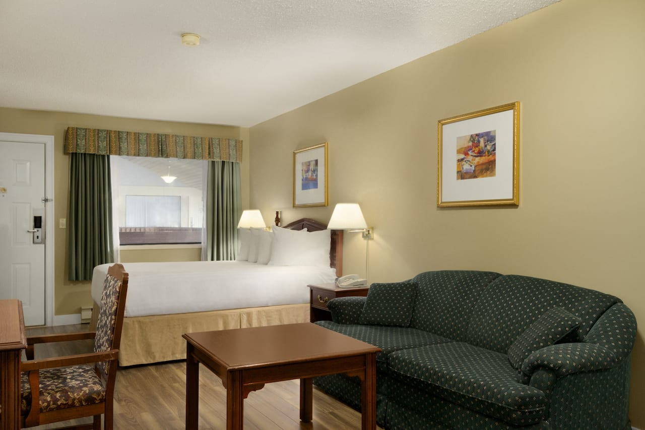 at the Days Inn Vernon in Vernon, British Columbia