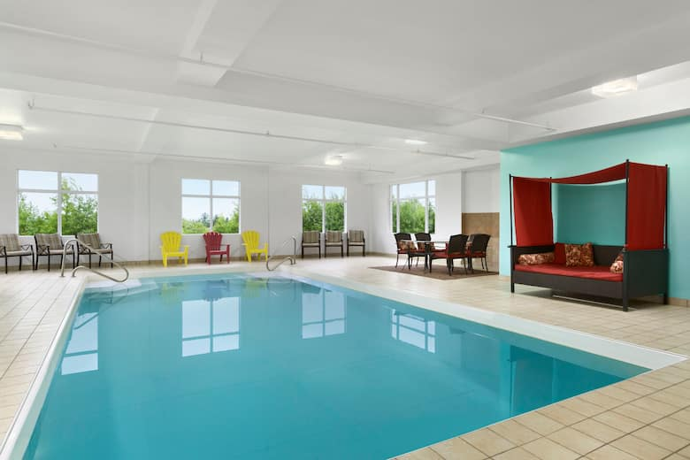 Pool At The Days Inn Conference Centre Oromocto In New Brunswick