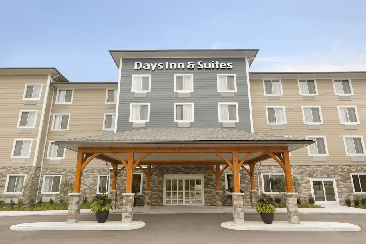 at the Days Inn and Suites Lindsay in Lindsay, Ontario