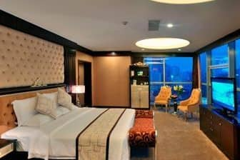 Guest room at the Days Hotel & Suites Changsha City Center in Changsha, Other than US/Canada