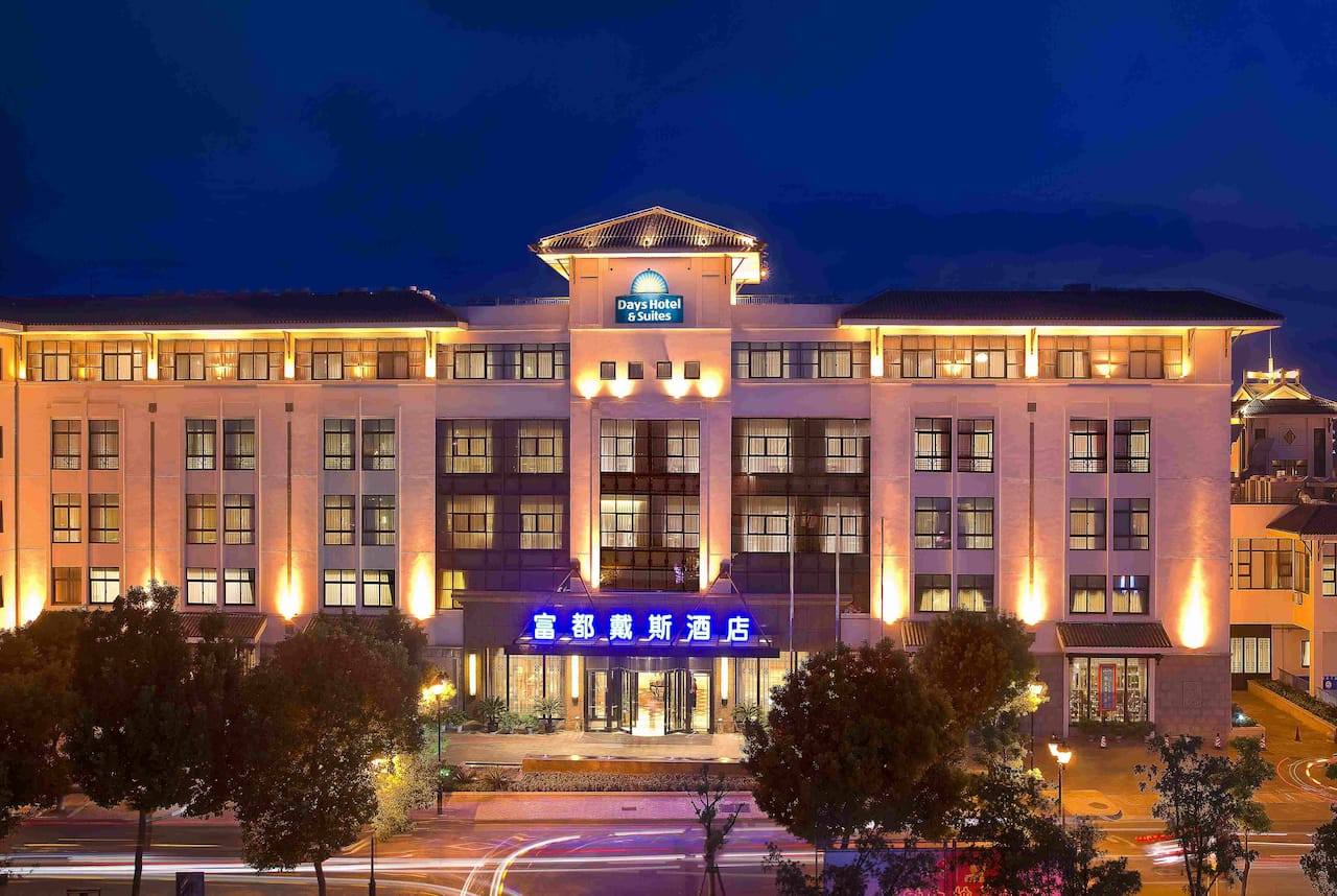 Days Hotel & Suites Fudu Changzhou in  Changzhou Jiangsu,  CHINA