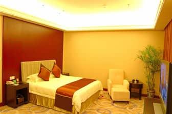 Guest room at the Days Inn Frontier Cixi in Cixi, Other than US/Canada