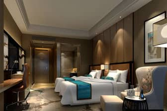Guest room at the Days Hotel Wenyi Anhui in Hefei, Other than US/Canada