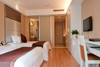 Guest room at the Days Inn Qi Xiu in Nantong, Other than US/Canada
