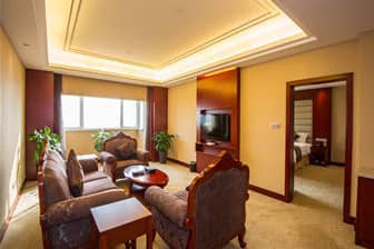 Guest room at the Days Hotel Frontier Nantong in Nantong, Other than US/Canada