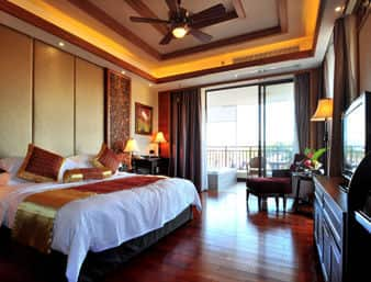at the Days Hotel and Suites Shimei Bay in ShiMei Bay, China