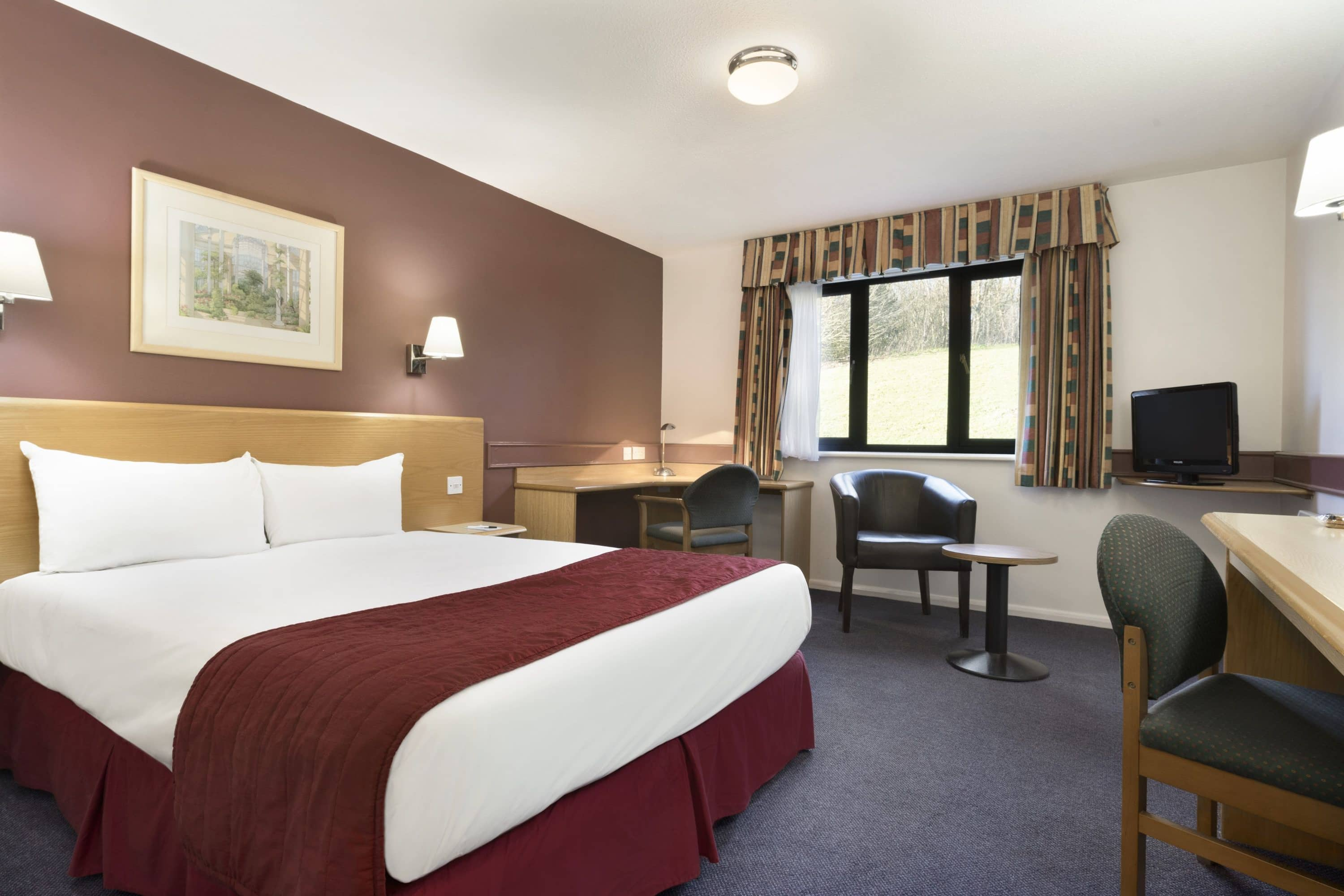Guest room at the Days Inn Membury M4 in Berkshire, Other than US/Canada